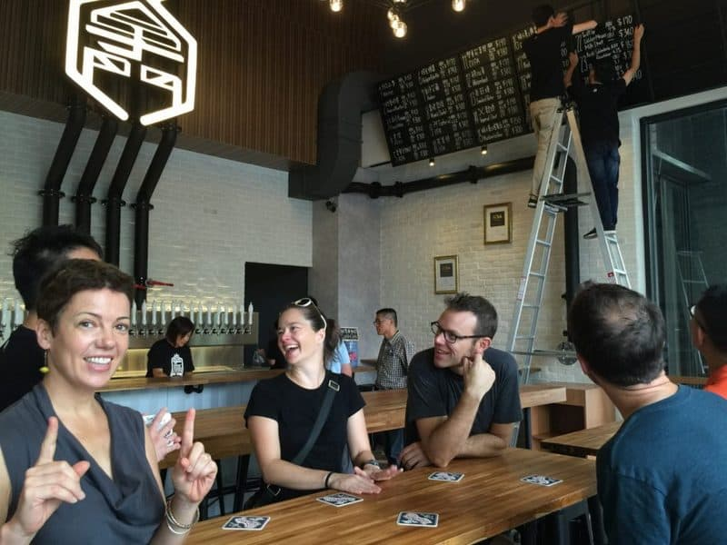 First Thirsty customers to ZhangMen Brewing opening in Taichung